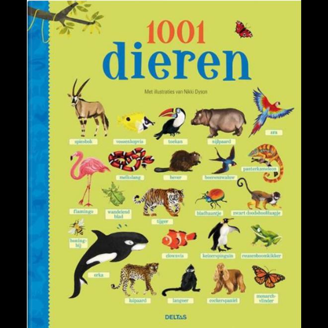 DELTAS - Kijk - en leerboek - 1001 dieren