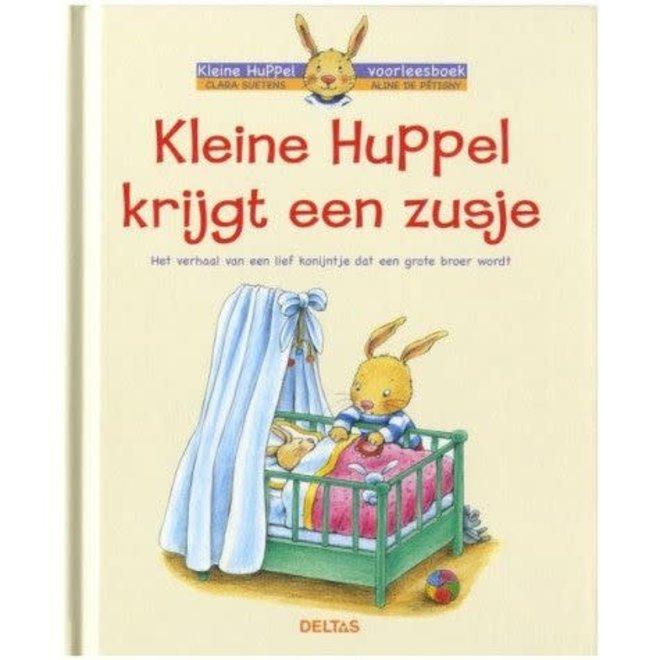 DELTAS - Voorleesboek - Kleine Huppel krijgt een zusje