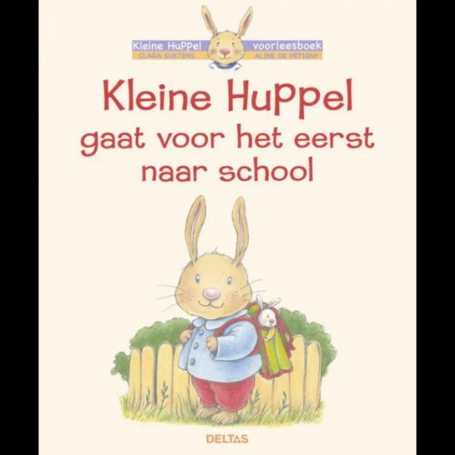 DELTAS - Voorleesboek - Kleine Huppel gaat voor het eerst naar school