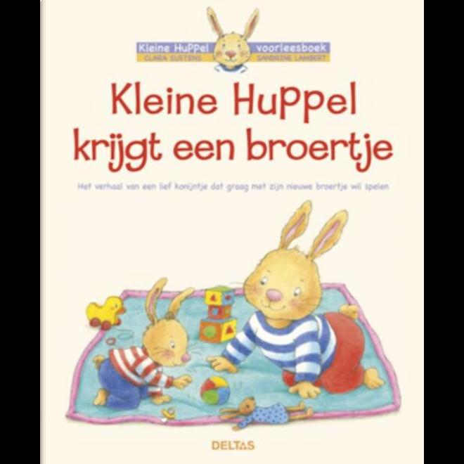 DELTAS - Voorleesboek - Kleine Huppel krijgt een broertje
