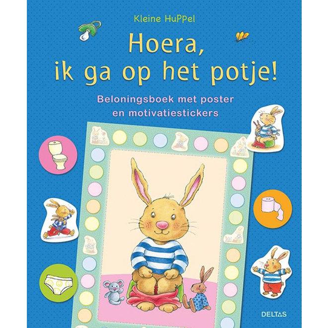 DELTAS - Beloningsboekje - Hoera , ik ga op het potje
