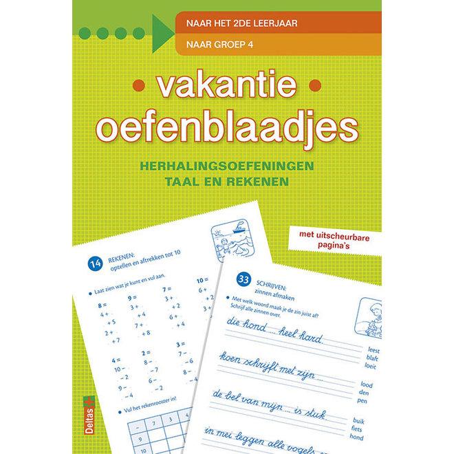 DELTAS - Vakantie oefenboekjes - Naar het 2de leerjaar