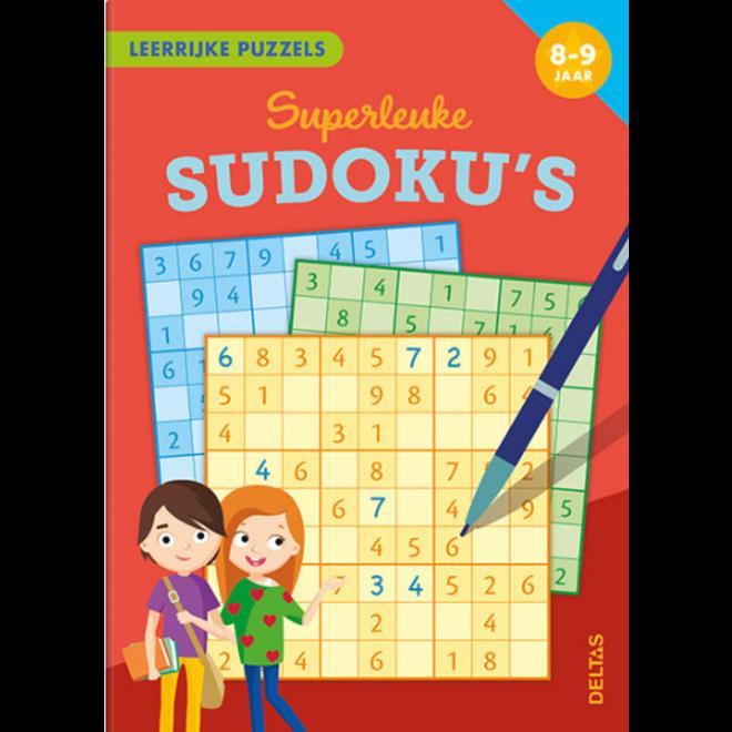DELTAS - Leerboeken - Superleuke Sudoku's ( 8-9jaar)