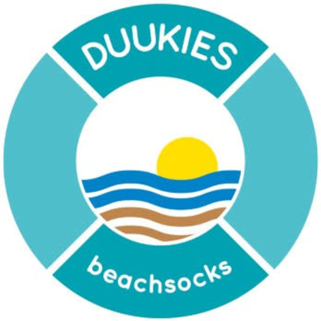 DUUKIES - Beachsocks - Confetti Blue