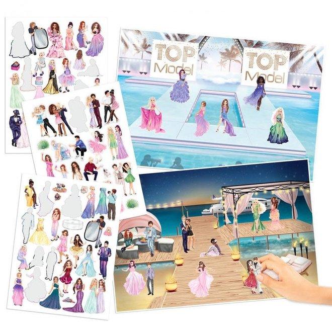 DEPESCHE - Stickerboek - Glamour Stickerworld 4+