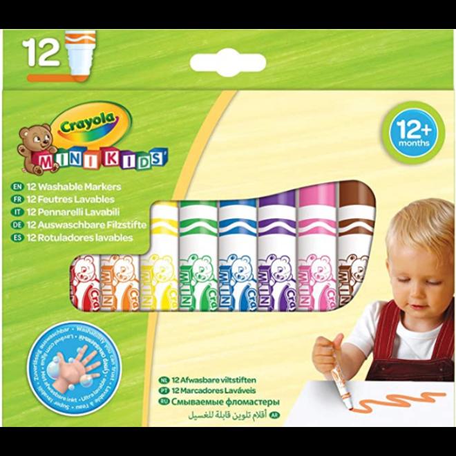 CRAYOLA - Mini Kids - Viltstiften  Bollen Punt (+12maanden)
