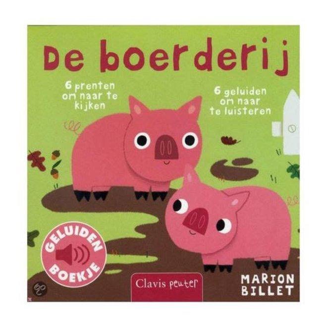 CLAVIS - Geluidenboek - De Boerderij +12m