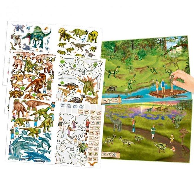 DEPESCHE - Stickerboek - Dino Zoo 4+
