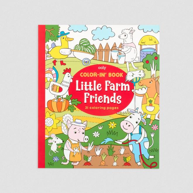 OOLY - Kleurboeken - Kleine Boerderij Vriendjes