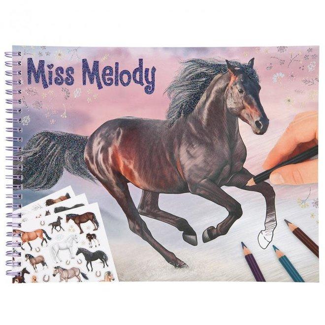 DEPESCHE - Kleurboek - Miss Melody kleurboek
