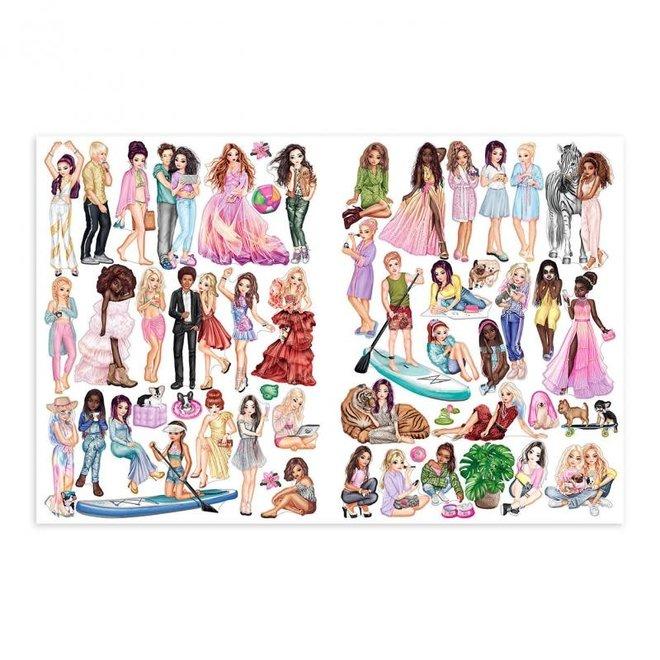 DEPESCHE - Stickerboek - Top Model Sticker 6+