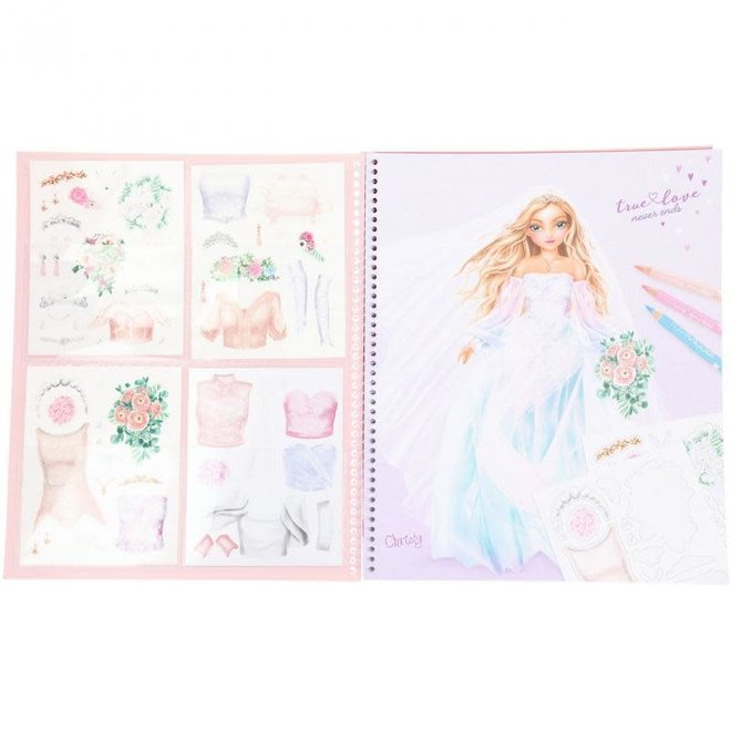 DEPESCHE - Kleurboek - Ontwerp je eigen trouwjurk 6+