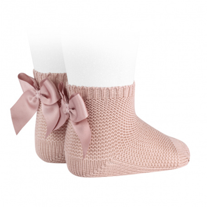 CONDOR  - Korte sokken met Strik (544)