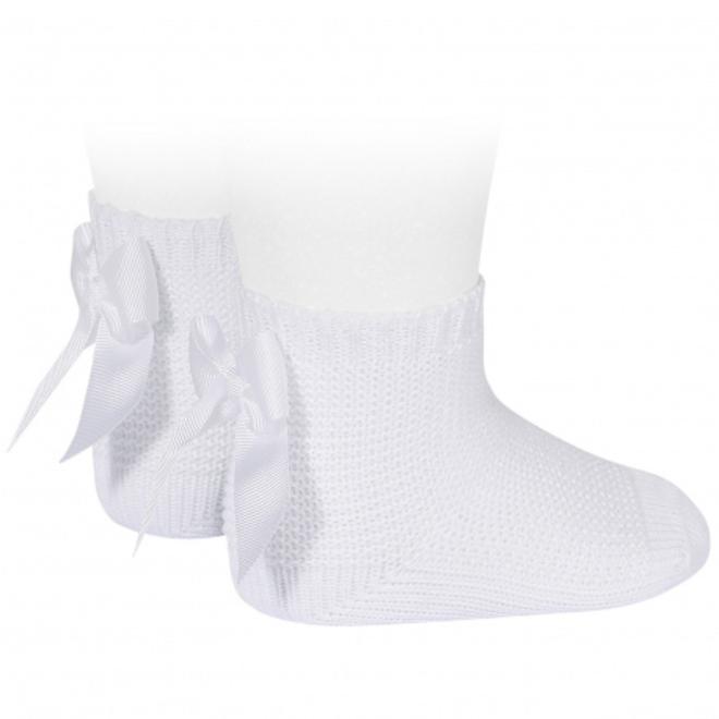 Copy of CONDOR  - Korte sokken met Strik (544)