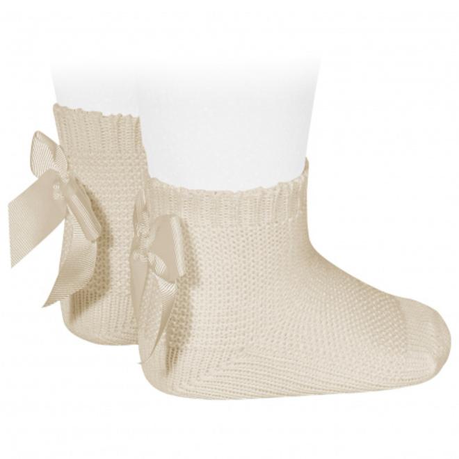 CONDOR  - Korte sokken met Strik (304)