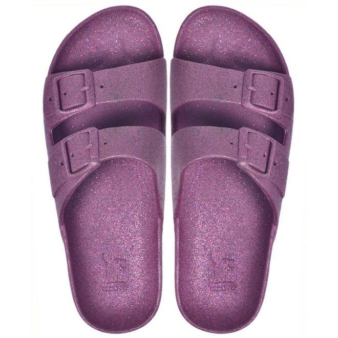 CACATOES - Slippers - Carioca Prune