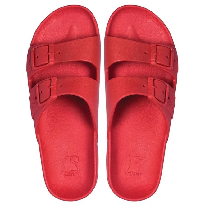 CACATOES - Slippers - Rio De janeiro Red