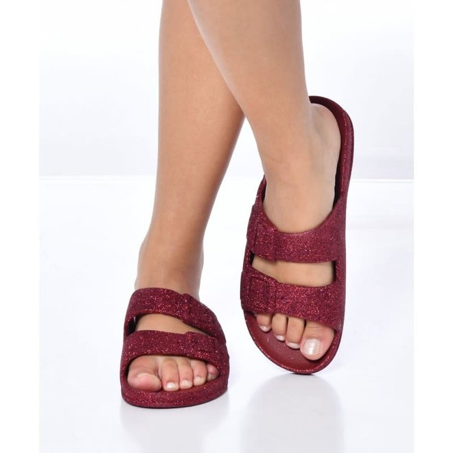 CACATOES - Slippers - Trancoso Bordeaux
