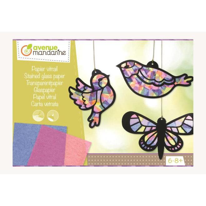 AVENUE MANDARINE - Creatief met Papier - Vogels 6+