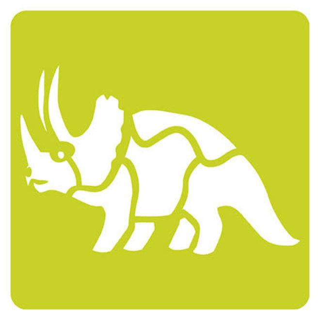 AVENUE MANDARINE - Sjablonen - Dinosaurus (6stuks)
