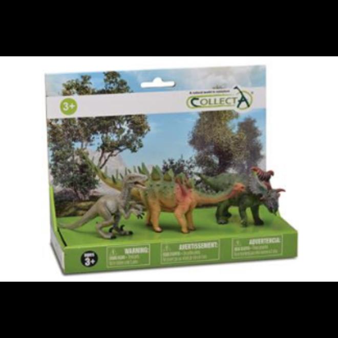 COLLECTA- Dinosaurus-gift set- 3 stuks