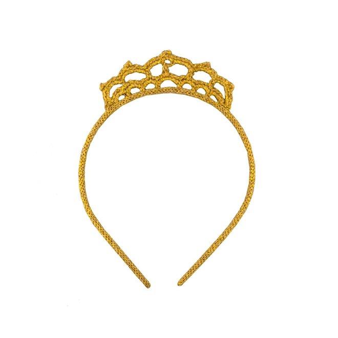 GLOBAL AFFAIRS - Haarband - Kroon Goud