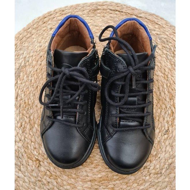 10IS - Nappa /Regatta Black/Blue ( Maat 24 tem 34)
