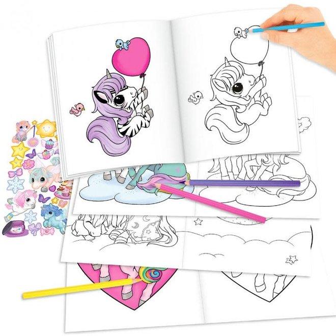 DEPESCHE - Kleurboek - Create your unicorn