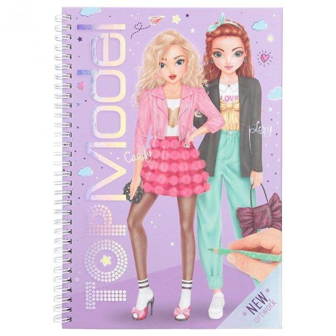 DEPESCHE - Kleurboek - Topmodel ( incl schrijf - en kleurmateriaal)