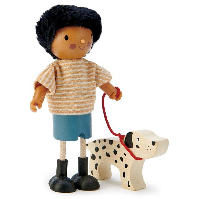 TENDER LEAF - Poppenhuis  - Mr Forrester en hond