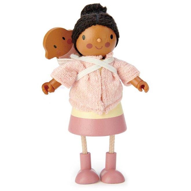 TENDER LEAF - Poppenhuis  - Miss Forrester en baby