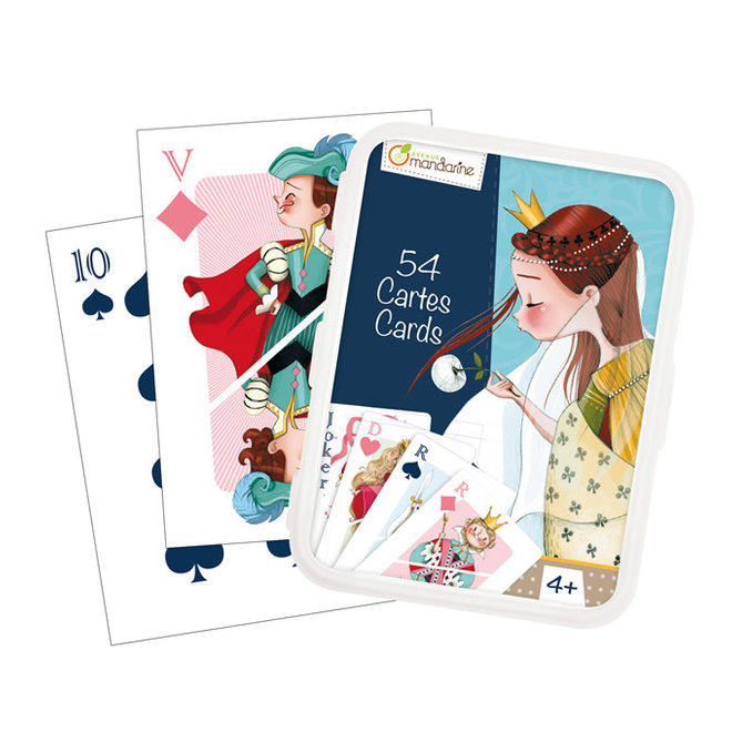 AVENUE MANDARINE - Speelkaarten - Klassiek