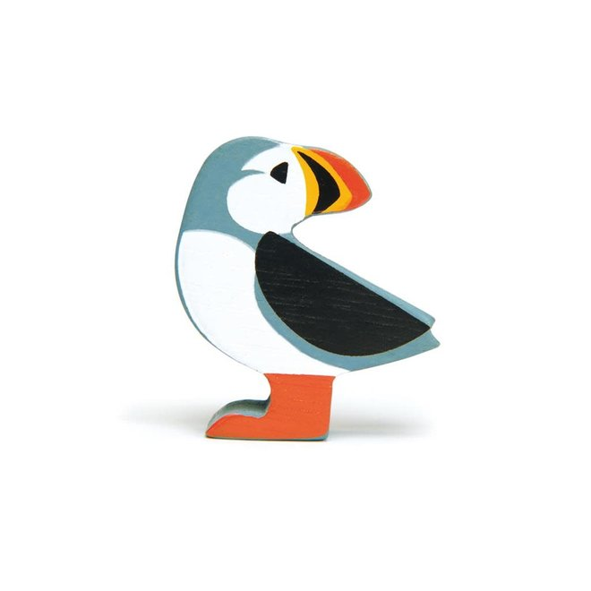 TENDER LEAF - Houten zeedieren - Papegaaiduiker