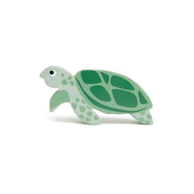 TENDER LEAF - Houten zeedieren - Zeeschildpad