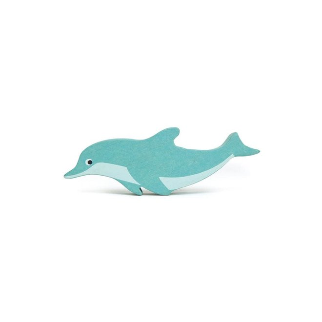 TENDER LEAF - Houten zeedieren - Dolfijn