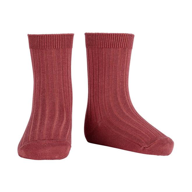CONDOR - Korte Sokken - Marsala (599)