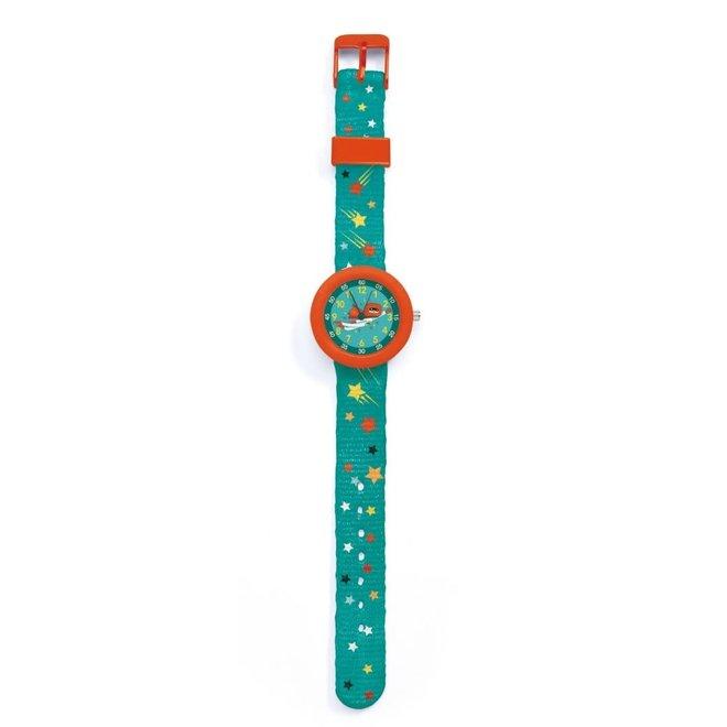 DJECO - Horloge - Superhero