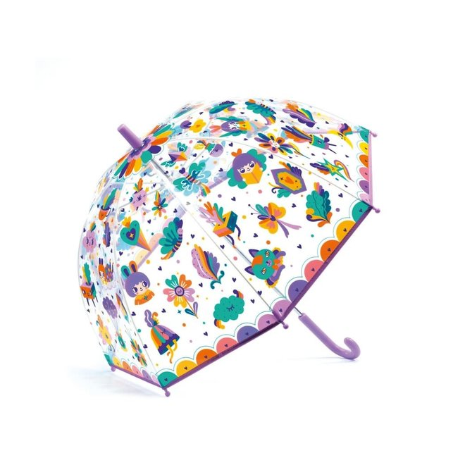 DJECO - Paraplu - Lovely Rainbow