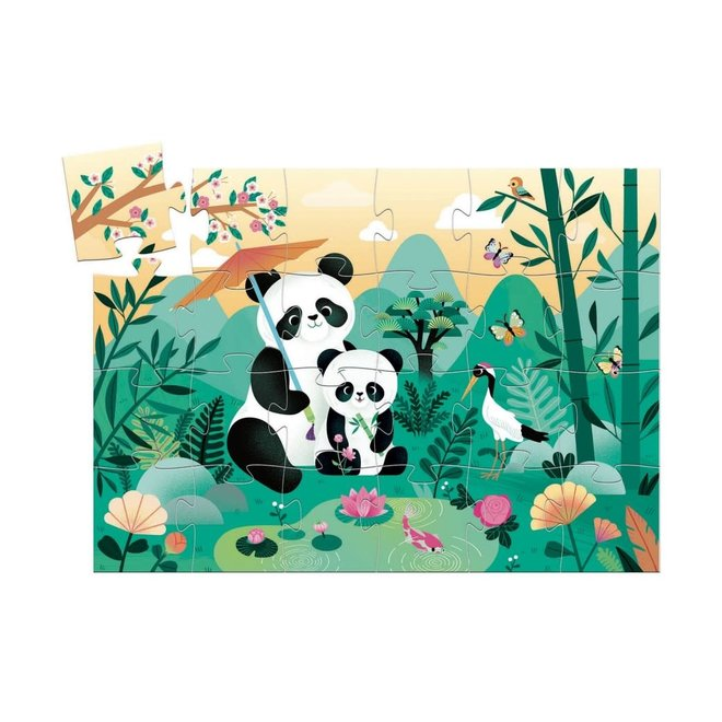 DJECO - Puzzel - Panda (24stuks) 3+