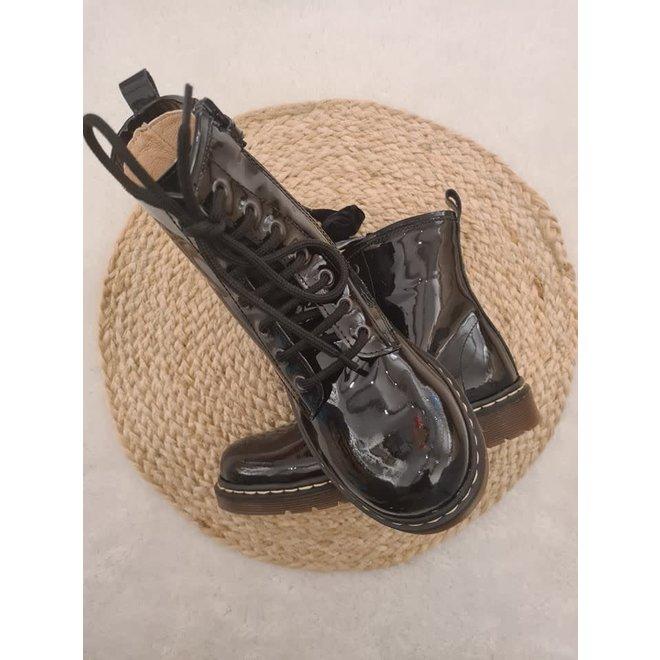 DIANETTI - Boots - Vernice  Nera ( Maat 31 tem 40)