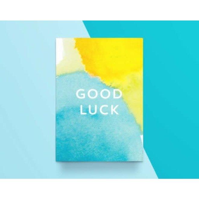 """KATHINGS  - Postkaart - Colors """"Good luck"""""""