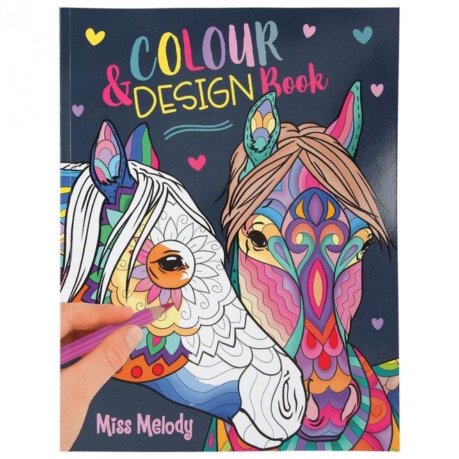 DEPESCHE - Kleurboek - Miss Melody kleur&design boek