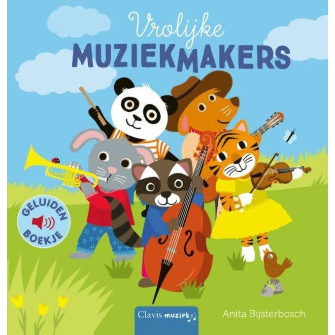 CLAVIS - Geluidenboek - Vrolijke Muziekmakers
