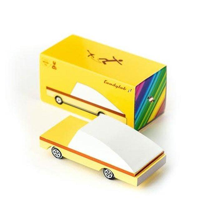CANDYLAB - Houten Auto -  Candycar B.Nana 3+
