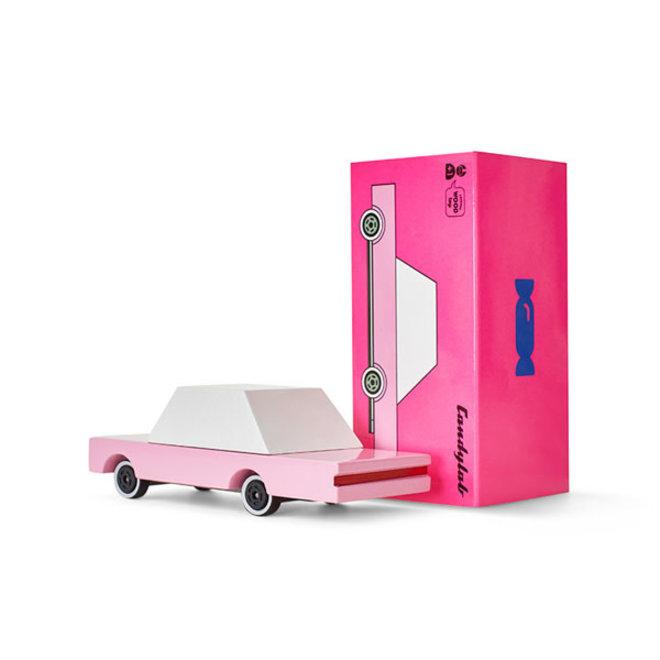 CANDYLAB - Houten Auto - Candycar Pink 3+
