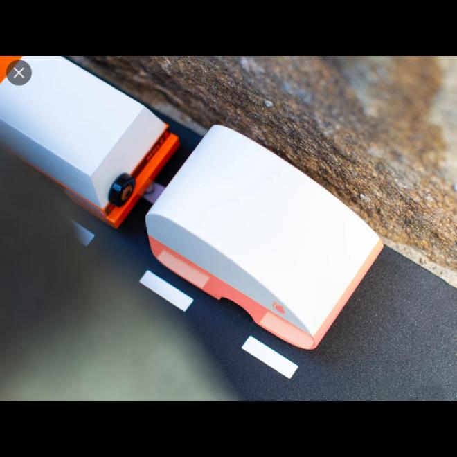 CANDYLAB - Houten Auto - Rosebud Trailer 3+