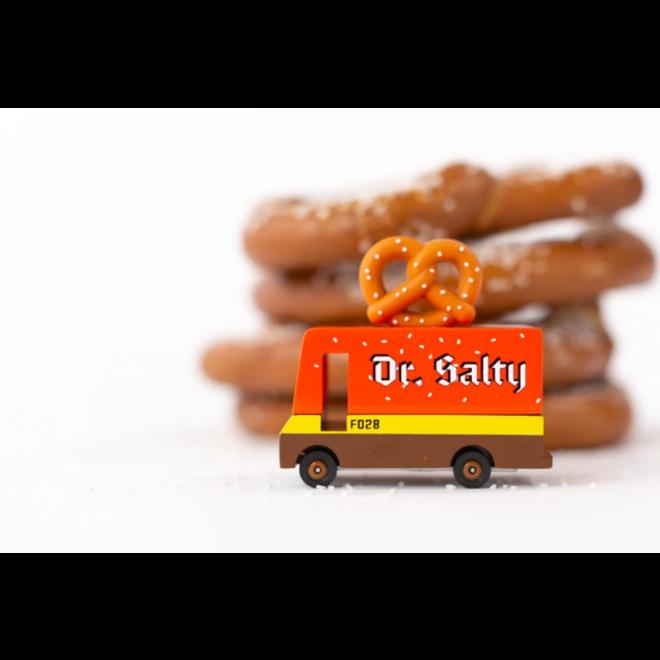 CANDYLAB - Houten Auto - Candyvan Dr. Salty Pretzel