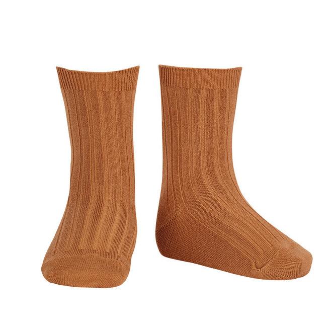 CONDOR - Korte Sokken - Cinnamon (688)