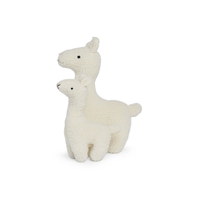 JOLLEIN - Knuffel - Lama Off white XL