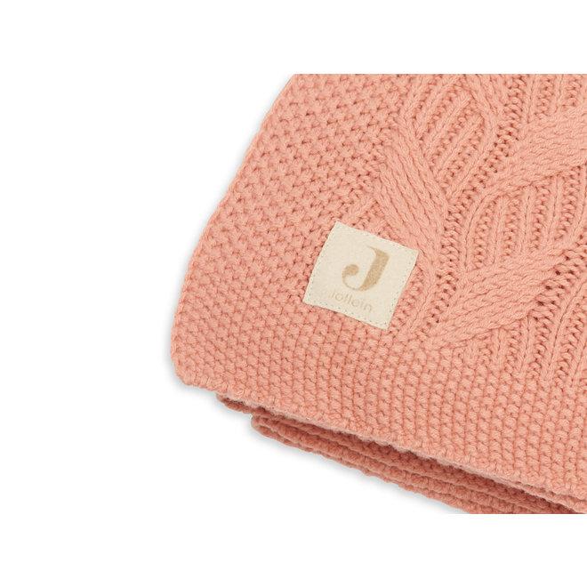 JOLLEIN - Deken - Spring Knit Rosewood (75x100cm)